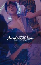 Accidental Love.   Kim Hanbin by KookieKrumblez