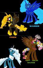 My little Pony : Die 4 Element Ponys (Pausiert Für Lange Zeit) by Dragon-Pony