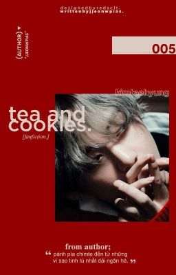 vkook| tea and cookies