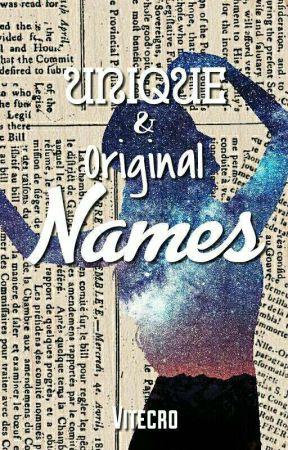 Unique Original Names Orginal Boy Names Wattpad