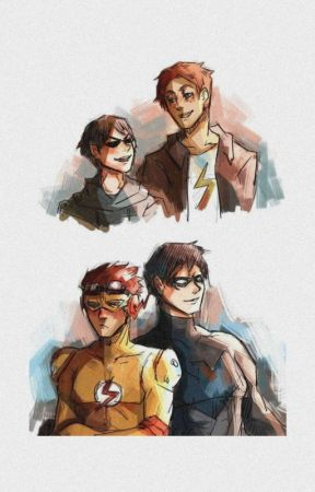 imágenes Birdflash-Kid Flash x Robin by NozomiKuro