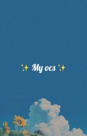 My shitty Ocs! - 1  Dawn - Wattpad