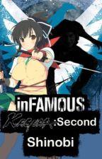 InFAMOUS kagura:Second Shinobi (Conduit Reader X Senran Kagura) by computerboy64