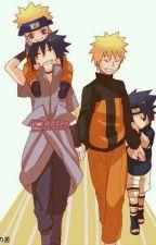 Sasunaru Family by PotatoQueenSasha