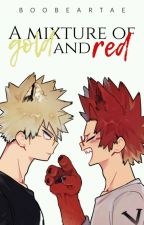 A mixture of gold and red | Bakushima. by boobeartae
