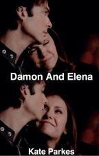 Damon and Elena by officialkateparkes
