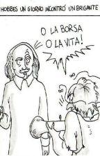 Quando un filosofo incontra un brigante... by Johann_Unschuldigen