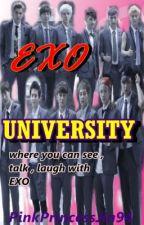 EXO University (Soon) by PinkPrincessJin94