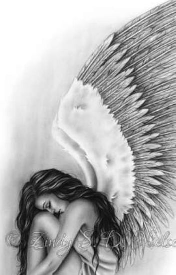 clothed women with wings