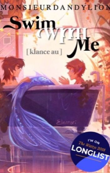 swim with me? [klance au]
