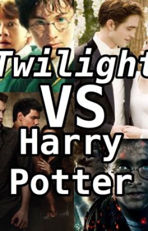 Twilight vs Harry Potter by GeekyOptimist