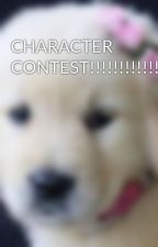 CHARACTER CONTEST!!!!!!!!!!!!!!!! by puppylove0101