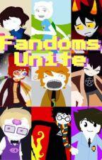 Fandoms Unite [Fandomstuck] (ON HIATUS) by MinecraftNINJAAA