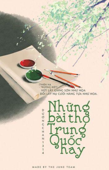 Đọc Truyện Những bài thơ trung quốc hay - TruyenFun.Com
