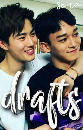 ♡ Drafts • Exo &  by ValeKkaebsong