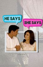 he says, she says by dawntme
