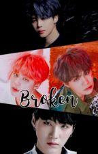 Broken || Yoonmin (Depressed Yoongi) by daydreampjmmyg9395