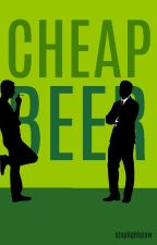 Cheap Beer | Frerard AU by stoplightglow