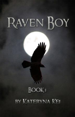Raven Boy by KaterynaKei