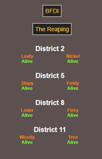 BFDI - The Hunger Games - ShuMaKai OT3 - Wattpad