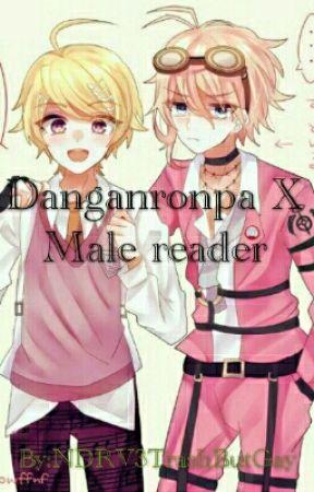 Danganronpa x Male Reader one shots - Kokichi X Male Dying