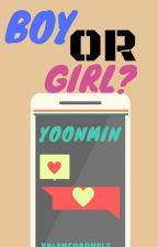 ¿Boy or girl?   -yoonmin- by ValenCoronel2