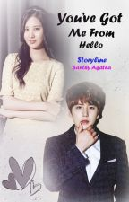 You've Got Me From Hello By Santhy Agatha by aulia_sk