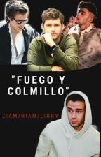 FUEGO Y COLMILLO (Ziam/ Niam/ Lirry) by MaRr1D