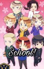 Countries At School?! [Hetalia x Reader] by Taro101