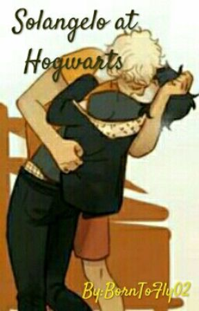 Solangelo at Hogwarts by BornToFly02