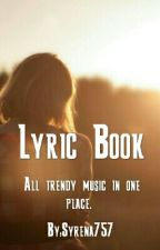 Lyric Book by Syrena757