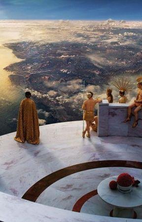 Greek gods x reader - 3  On the Olympus (zeus x reader