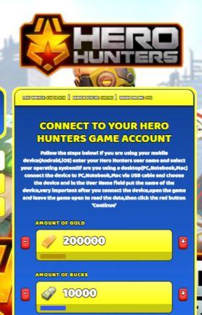 hero hunters mod apk hack download