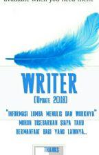 WRITER [Info Lomba UPDATE 2018] by khayrose88