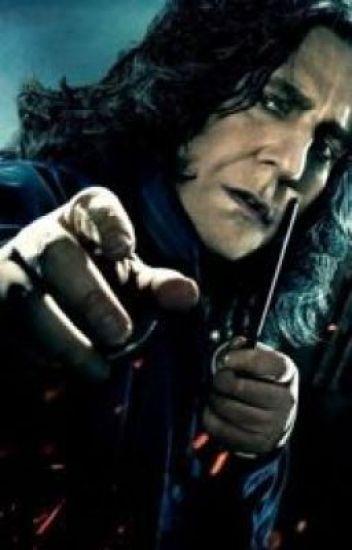 Snape's Little Boy In Slytherin