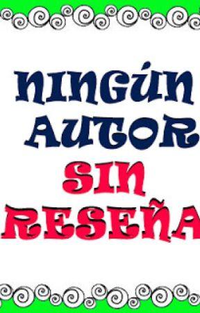 Ningún autor sin reseña by Loslibrosdepandora