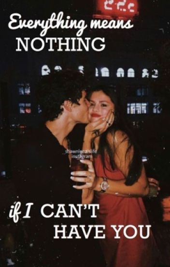 Everything means nothing if I can't have you ||Shawn Mendes||