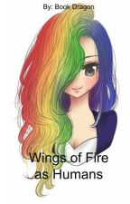 Wings of Fire as Humans by starsandspells