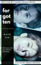 Forgotten ; Mark Lee  by yourlilnightmare