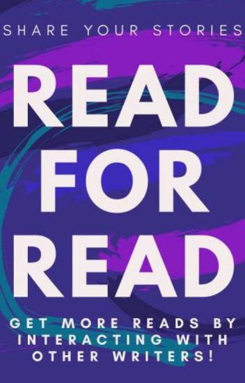 Read for Read #Storypromotion #Shareyourstories ✓