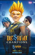 Desafió champions Sendokai: La leyenda del Super Guerrero Sendokai. by granzornx21