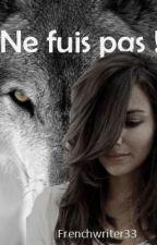 Ne fuis pas ! by Frenchwriter33
