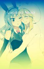 Lucia vs Navia by Fairy_Friess
