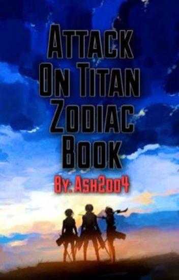 Attack On Titan Zodiac Book