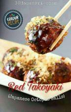 Red Takoyaki by 30Hanamori-chan
