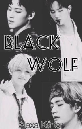 Черный волк   Black wolf  by Alexa_Karter