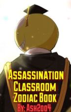 Assassination Classroom Zodiac Book by Ash2oo4