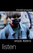 listen || vkook texting by kleineDramaqueen