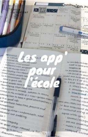 Les app' pour l'école by LaureVangelder