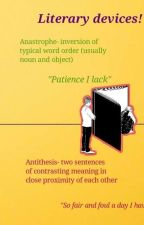 {GCSE English} Let's learn literary devices! by timelessmelodies